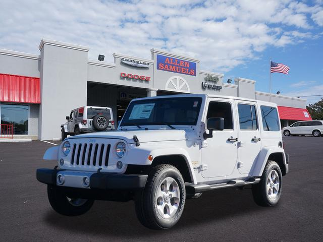 New 2015 Jeep Wrangler Unlimited Sahara
