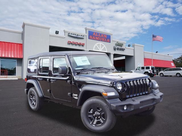 New 2018 Jeep Wrangler Unlimited UNLIMITED SPORT 4X4