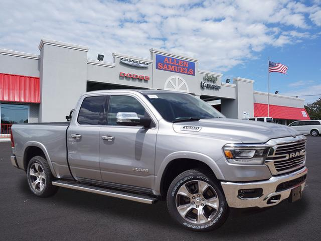 New 2019 RAM 1500 LARAMIE QUAD CAB 4X4 64 BOX