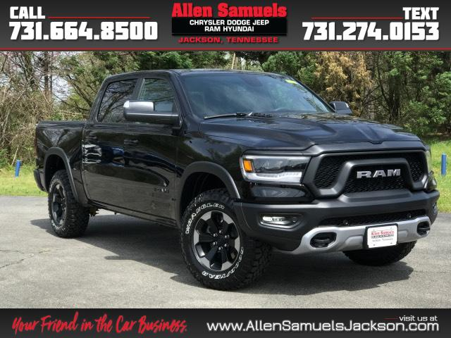 New 2019 Ram 1500 Rebel 4x4 Crew Cab 5'7 Box
