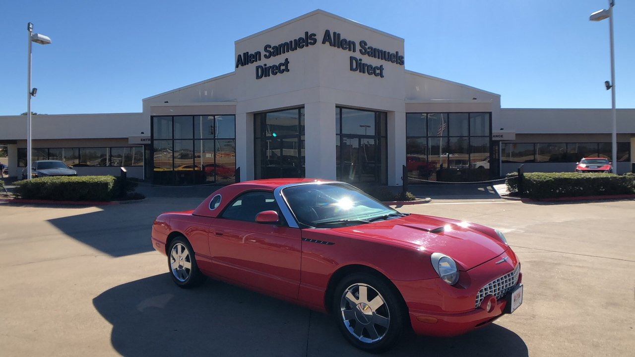 Pre owned 2002 ford thunderbird 2dr convertible premium