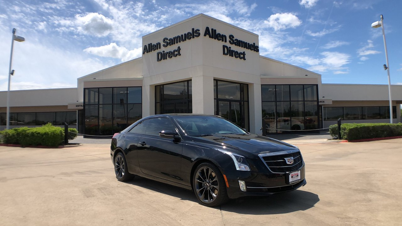 Certified Pre-Owned 2016 Cadillac ATS Coupe Luxury Collection RWD
