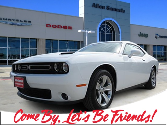 New 2019 Dodge Challenger Sxt 2dr Car In Waco Kh507396 Allen