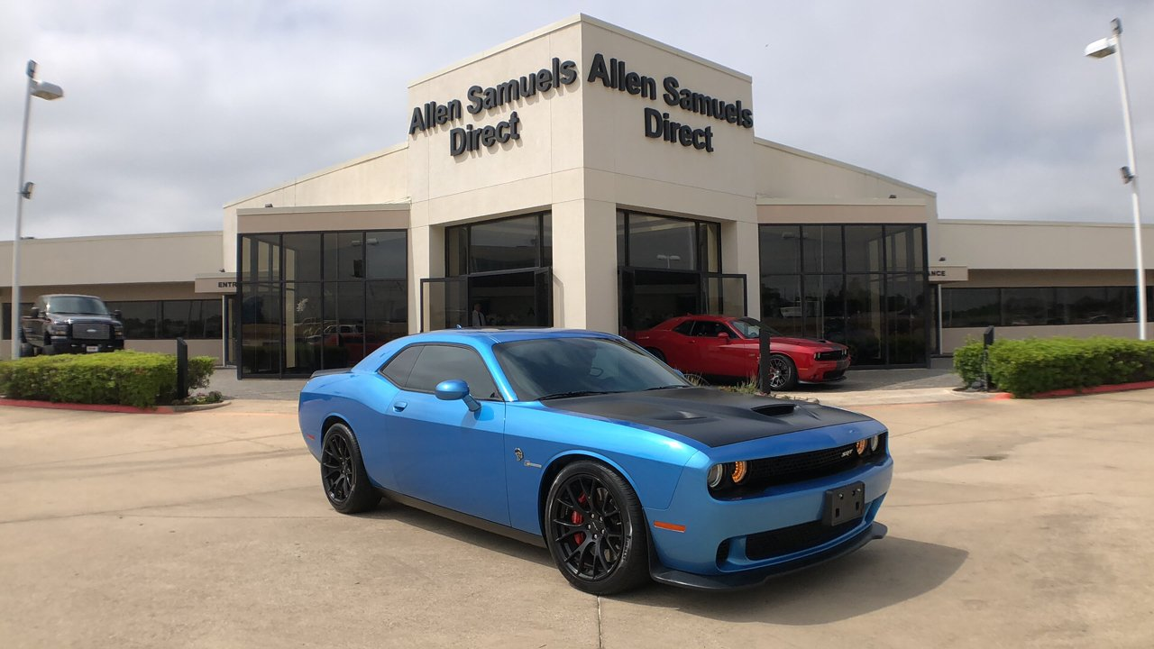 2016 Dodge Challenger Hellcat >> Certified Pre Owned 2016 Dodge Challenger Srt Hellcat Rwd 2dr Car