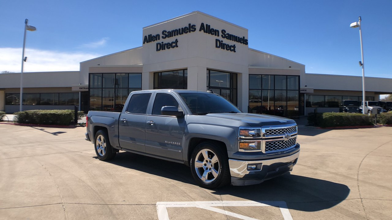 Pre Owned 2015 Chevrolet Silverado 1500 Lt Crew Cab Pickup In Waco