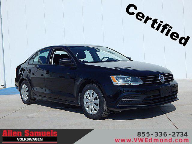 Certified Pre-Owned 2015 Volkswagen Jetta 4dr Auto 2.0L S w/Technology