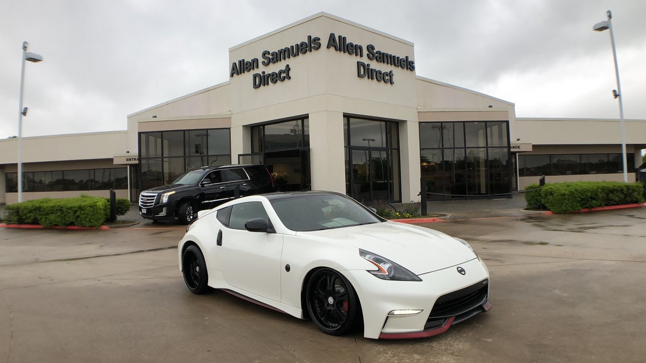 Certified Pre Owned 2016 Nissan 370z Nismo Tech