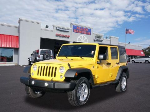 New 2015 Jeep Wrangler Unlimited Sport
