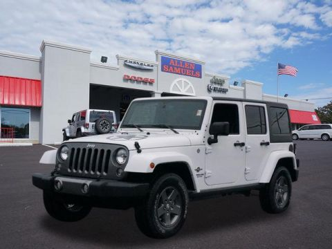 New 2015 Jeep Wrangler Unlimited Sport 4x4