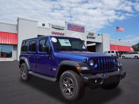 New 2018 Jeep Wrangler Unlimited UNLIMITED SPORT S 4X4