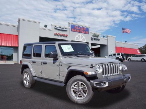 New 2018 Jeep Wrangler Unlimited UNLIMITED SAHARA 4X4