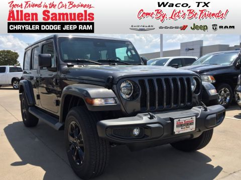 New 2019 Jeep Wrangler Unlimited Sahara Altitude With Navigation & 4WD