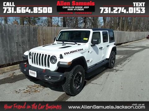 New 2018 Jeep Wrangler Unlimited Rubicon 4x4