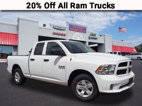 New 2018 RAM 1500 EXPRESS QUAD CAB 4X2 64 BOX