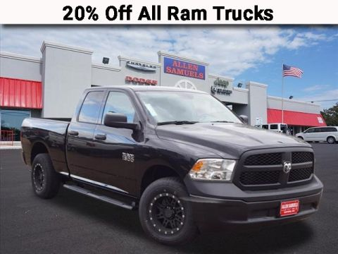 New 2018 RAM 1500 TRADESMAN QUAD CAB 4X4 64 BOX