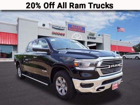 New 2019 RAM 1500 LARAMIE CREW CAB 4X2 57 BOX