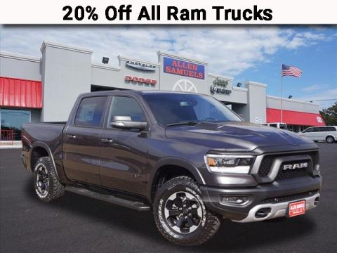 New 2019 RAM 1500 Rebel 4WD