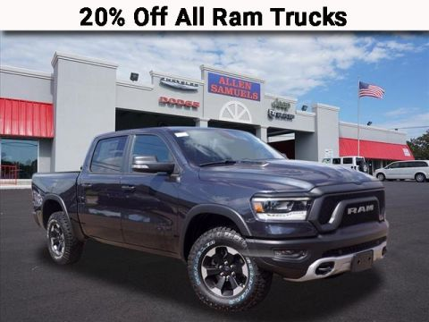 New 2019 RAM 1500 REBEL CREW CAB 4X4 57 BOX