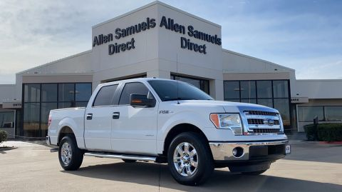 Pre-Owned 2013 Ford F-150 2WD SuperCrew 145 XLT