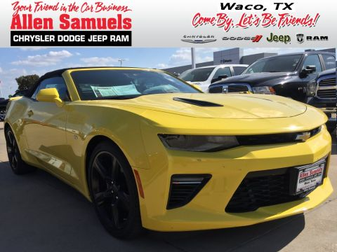 Pre-Owned 2017 Chevrolet Camaro 2SS With Navigation