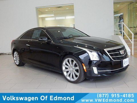 Pre-Owned 2015 Cadillac ATS 2dr Cpe 3.6L Premium RWD