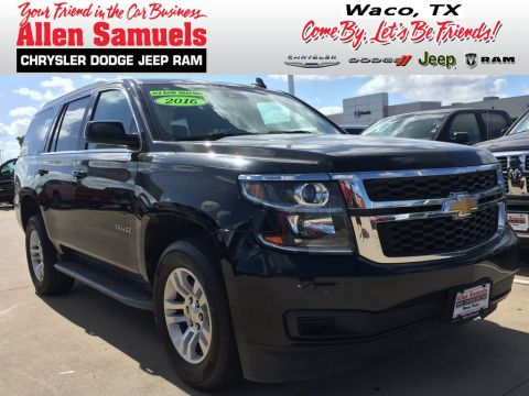 Pre-Owned 2016 Chevrolet Tahoe LT With Navigation