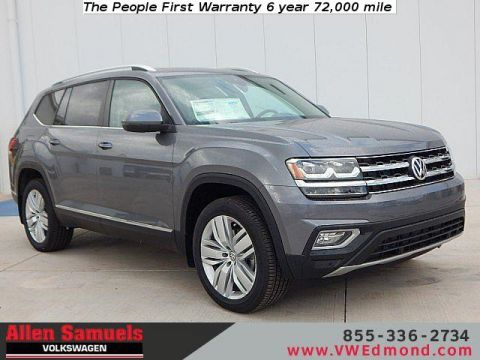 New 2019 Volkswagen Atlas 3.6L V6 SEL 4MOTION