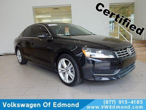 Certified Pre-Owned 2015 Volkswagen Passat 4dr Sdn 2.0L TDI DSG SE w/Sunroof