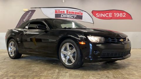 Certified Pre-Owned 2015 Chevrolet Camaro LT RWD Convertible