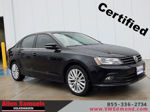 Certified Pre-Owned 2016 Volkswagen Jetta 4dr Auto 1.8T SEL
