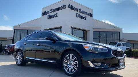 Certified Pre-Owned 2016 Kia Cadenza Premium With Navigation