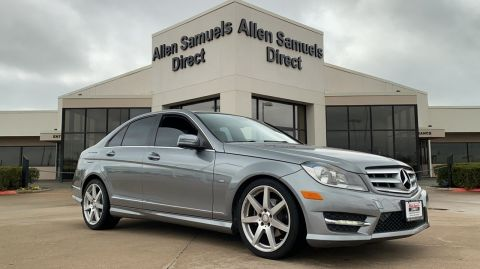 Certified Pre-Owned 2012 Mercedes-Benz C-Class 4dr Sdn C 250 Sport RWD RWD 4dr Car
