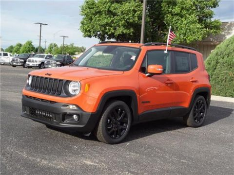 New 2018 Jeep Renegade Latitude Front-wheel Drive