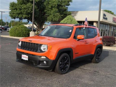 New 2018 Jeep Renegade Altitude Front-wheel Drive